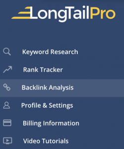 LTP Backlink Analysis